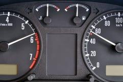 Control panel car Stock Photo