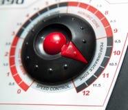 Control panel detail of treadmill Stock Photo