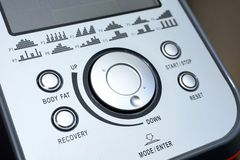 Control panel Royalty Free Stock Image