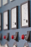 Control panel at the factory Stock Photos