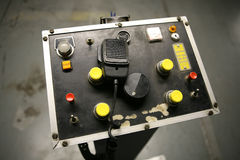 Control Panel (Focus on CB Radio) Royalty Free Stock Photos