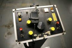 Control Panel (Focus on CB Radio). An old ships control panel (Focus on CB Radio royalty free stock photos