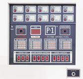 Control panel forfire alarm system Stock Images