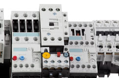 Control panel fragment Royalty Free Stock Photo