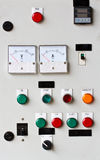 Control panel. In the industry Royalty Free Stock Photos