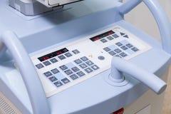 Control panel of medical machine Stock Photo