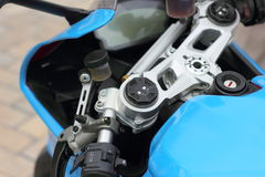 Control panel motorcycle Stock Photography
