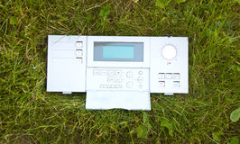 Control panel of the Nature Royalty Free Stock Photo