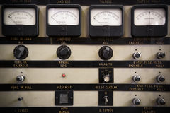 Control panel Stock Photography