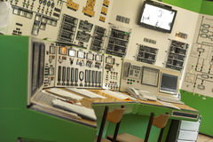 Control panel of a power plant Stock Images