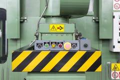 Control panel of press Stock Photo