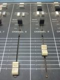 Control panel  radio broadcast. Control panel radio broadcast on air Stock Photography