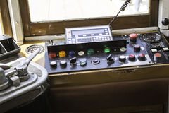 Control Panel tram Royalty Free Stock Photos