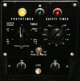 control panel vintage Στοκ φωτογραφία με δικαίωμα ελεύθερης χρήσης