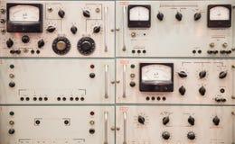 Control panel Royalty Free Stock Photo