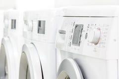 Control panel of washing machine Royalty Free Stock Photo