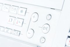 Control panel Royalty Free Stock Photos