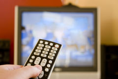 control remote tv Στοκ εικόνες με δικαίωμα ελεύθερης χρήσης