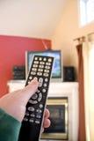 control remote tv Στοκ Φωτογραφία