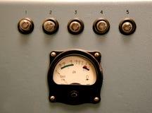 Control retro del sonido Imágenes de archivo libres de regalías