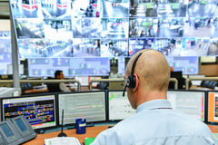 Free Control Room Stock Photography - 35240662