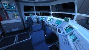 Control room Stock Image