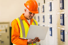 Control room engineer Royalty Free Stock Photography