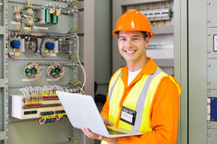 Control room engineer Royalty Free Stock Photo