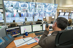 Control Room stock image