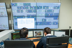Control Room Stock Photography