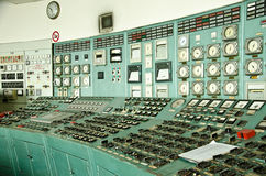 Control room. Of an power generation plant Stock Photo