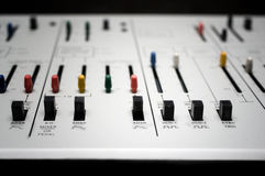 Control Of Synthesizer Stock Photos
