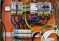 Control system. Automatic numerical control switch-board in control tower