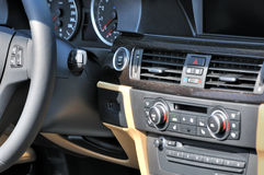 Control system of saloon car Stock Photo