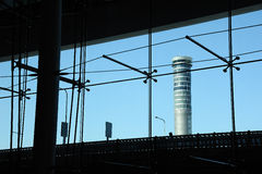 The control tower Stock Images