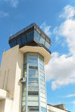 Control Tower. A control tower at a military air facility Stock Photos