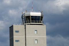 Control tower. A airport control tower view Royalty Free Stock Photography