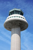 Control Tower. Air traffic control tower closeup stock images
