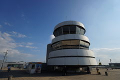 Control tower in airport Stock Image