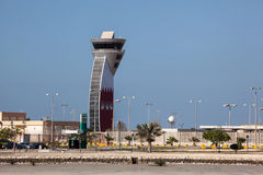 Control Tower of Bahrain Airport Stock Photo