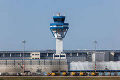 Control tower at the Cologne airport, Germany Stock Images