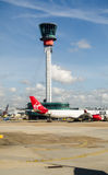 Control Tower, Heathrow Airport, London Stock Photo