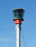 Control tower on LHR. Control tower on London Heathrow (LHR) International airport Stock Image