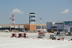 Control Tower, Marco Polo Airport, Venice Stock Photos