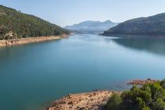 Control viejo lookout, Guadalquivir river, Cazorla Natural Park, Jaen, Spain.  royalty free stock images