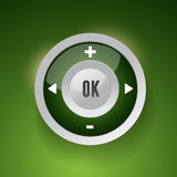 Control Web Element Button Royalty Free Stock Photo