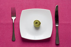 Control what you eat Stock Images