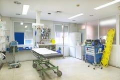 Control y exploración médicos del sitio de la cirugía del hospital Fotos de archivo libres de regalías