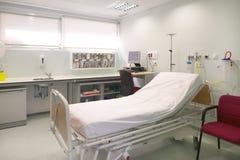 Control y exploración médicos del sitio de la cirugía del hospital Foto de archivo libre de regalías