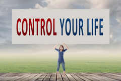 Control your life Royalty Free Stock Image
